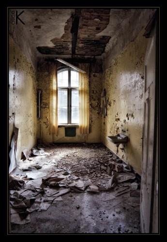 Zerfall der Beelitz-Heilstätten Nahe Berlin, ein ehemaliges Lungensanatorium, entstanden zwischen 1898 und 1930
