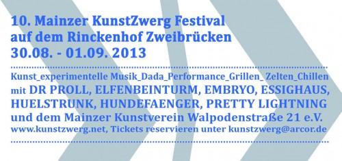 10. KunstZwergFestival