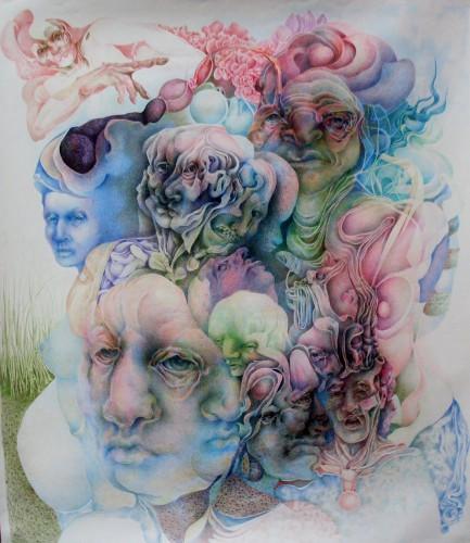 Okka Rickers Zeichnung